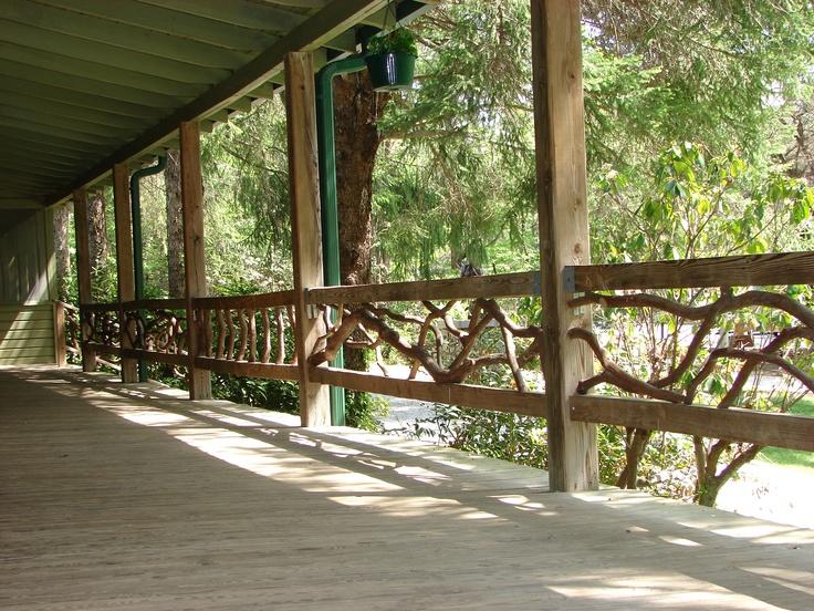 Mountain Laurel Porch Railing Oconee State Park Sc