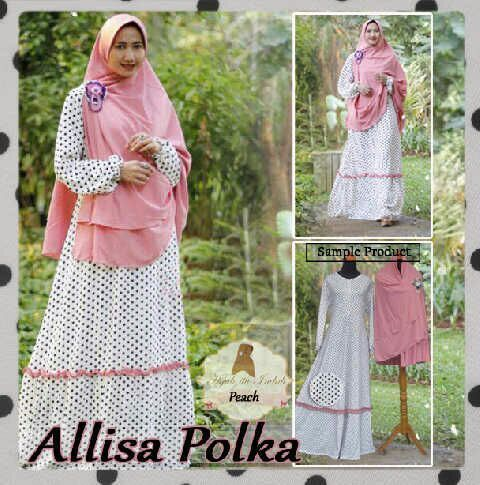 Stantha Polka Flare Muslim Set