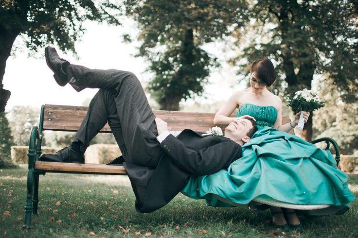 Bräutigam, der auf Knien Braut, Europahaus Wien