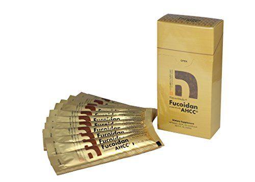 NatureMedic Fucoidan AHCC, 10 liquid packets/box, Made in