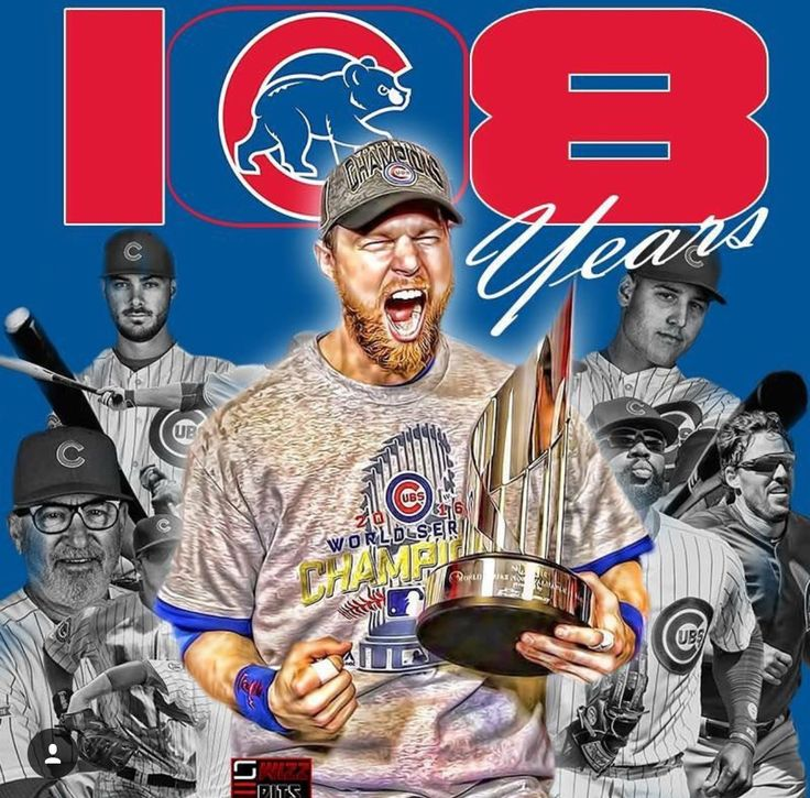 108 years later.  World Champs. Cubs.