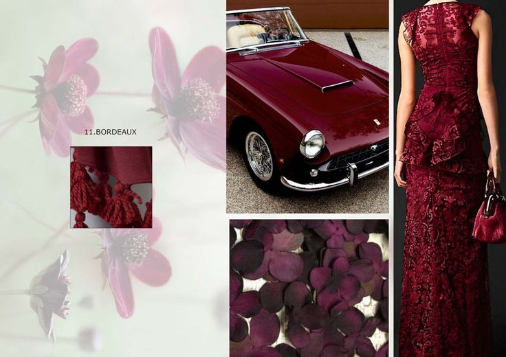 Star of this year, the bordeaux is the color of seduction...discover our accessories of this color on shop.marinafinzi.com