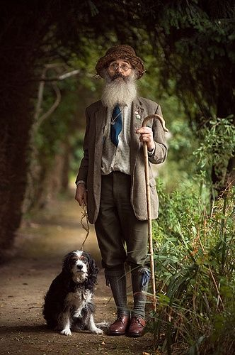 """Otto says, """"Chicks dig dogs and beards.  You'll have to carry a big stick to keep them back..."""""""