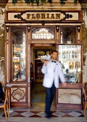 Venice,Italy  http://www.amazon.com/La-TAVOLA-Adventures-Misadventures-American/dp/1463618123