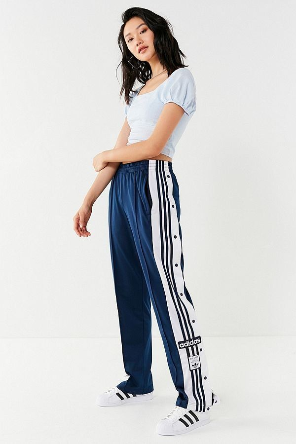 adidas Originals Adicolor Oversized Tear-Away Track Pant in 2019 ... 62ee45fb0e2