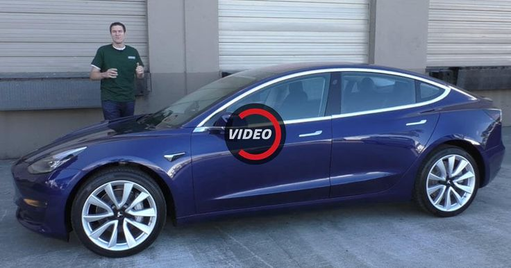 Tesla Model 3 Proves Pretty Impressive In Early Review #Electric_Vehicles #Reviews