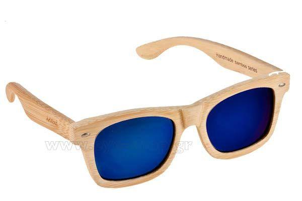 Γυαλια Ηλιου  Artwood Milano MyWay 04 Blue mirror Polarized Natural Bamboo Τιμή: 100,00 €