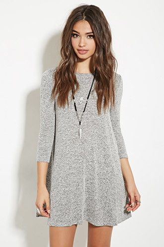 Marled Sweater Dress | Forever 21 - 2000167677