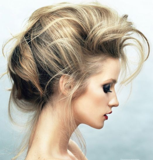Some kind if side profile updo