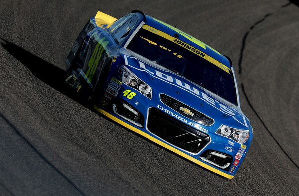 Jimmie Johnson Photos Photos - Jimmie Johnson, driver of the #48 Lowe's Chevrolet, races during the NASCAR Sprint Cup Series Ford EcoBoost 400 at Homestead-Miami Speedway on November 20, 2016 in Homestead, Florida. - NASCAR Sprint Cup Series Ford EcoBoost 400