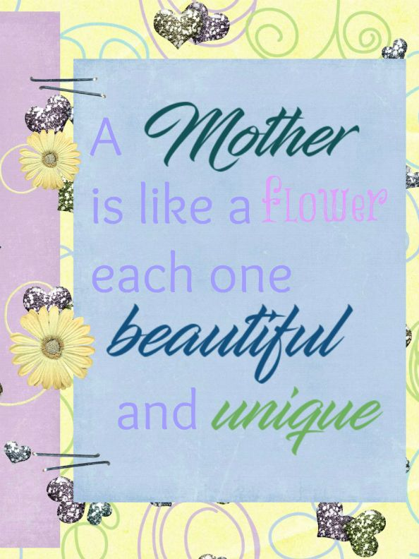 FREE mother's card, created using Mom's day off by Heather Z. Scraps. Just click and safe, print and then you'll have a beautiful card.