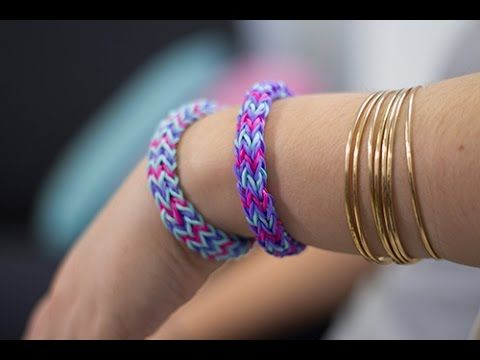 #Bracelet #Loom double sans machine ! #DIY