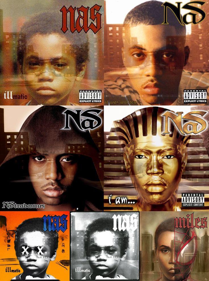 nas album covers1994 1999 illmatic it was written