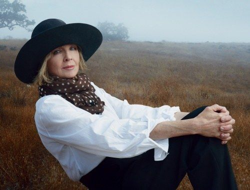 Diane Keaton's minimalist approach to her beauty look has cemented the 68-year-old as an unconventional role model for women of all ages. As a two-time skin cancer survivor, Keaton is religious about one thing: her daily dose of L'Or