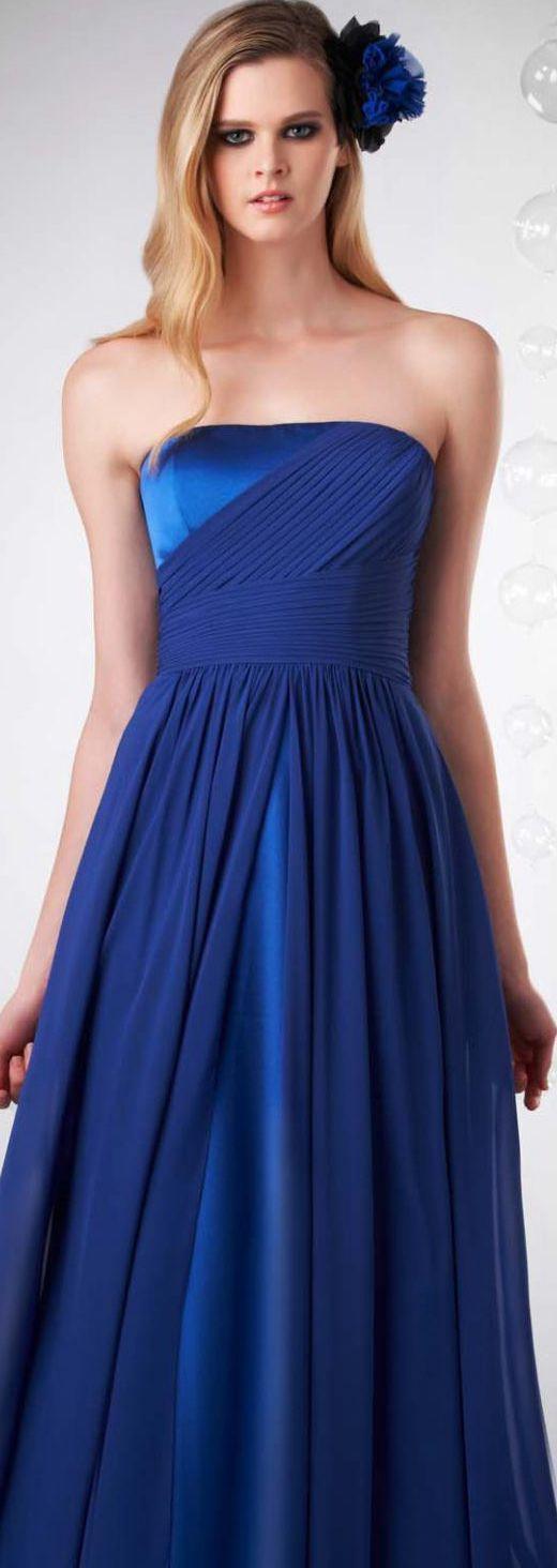 #aislestyle #blue #bridesmaid #royal