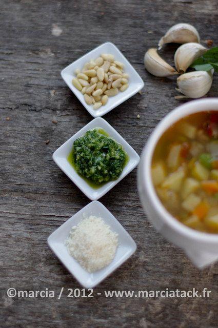 Soupe pistou - Recette - Marcia Tack