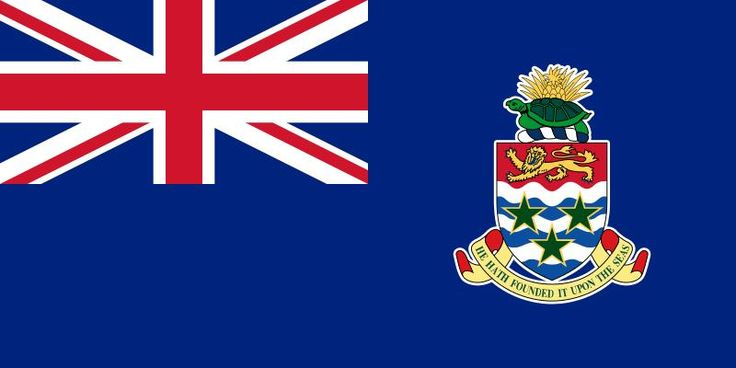 The flag of the Cayman Islands