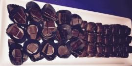 Purdy's chocolate samples at the #apothicwines event at #Twelve_West #Vancouver