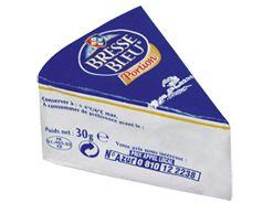 Bresse Bleu® portion triangulaire au lait pasteurisé