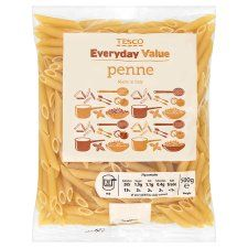Tesco Everyday Value Penne 500G - Groceries - Tesco Groceries