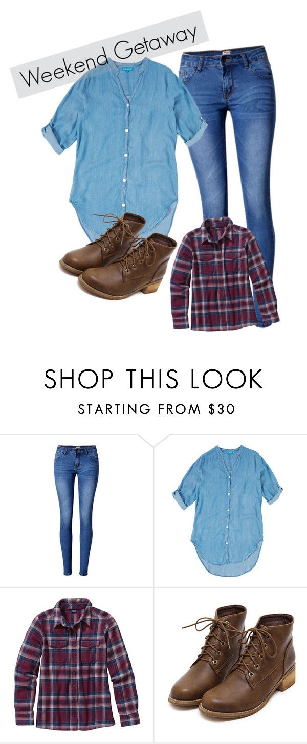 """Dj Tanners Second Kiss With Matt  by sracastix  on Polyvore  featuring Mode, Blue Island, Patagonia and WithChic. I have absolutely no Idea why there is """"Weekend Getaway"""" written !"""