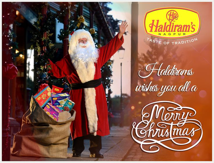 Enjoy #Christmas festival with #Haldirams sweets. #MerryChristmas