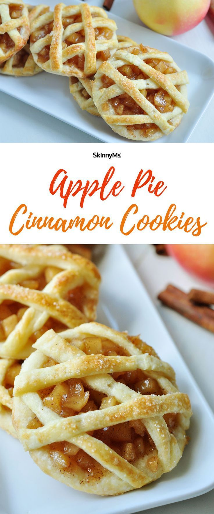 Once you try these irresistible Apple Pie Cinnamon Cookies you'll be hooked!