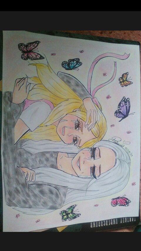 Este dibujo va dedicado a Reah en el día de las madres. #mivi
