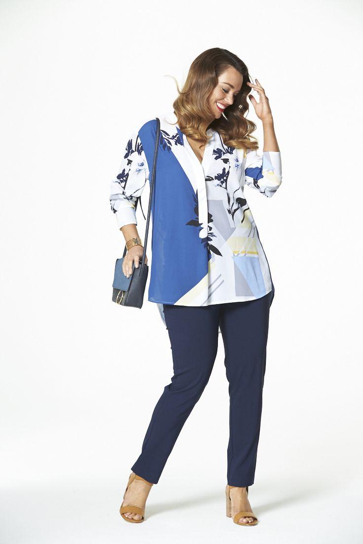 Sunshine Long Tunic  #mysize #plussize #fashion #plussizefashion #spring #newarrivals #outfit