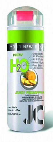 System Jo H2O Ananas - juicy pineapple - 150 ml fra SystemJO - Sexlegetøj leveret for blot 29 kr. - 4ushop.dk - Vandbaseret glidecreme med ananas smag, som har alle fordelene fra System JO personlige glidecremer. Samme følelse og viskositet, men alligevel indeholder den ingen olie, voks eller silikone.