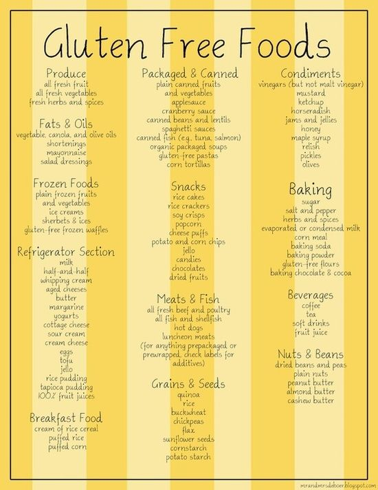 Gluten Free Foods - Click image to find more popular food & drink Pinterest pins