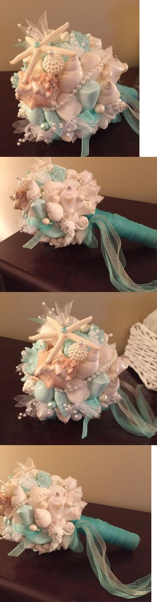 Flowers Petals and Garlands 20938: Xo Bouquets Small Sea Shell Bouquets -> BUY IT NOW ONLY: $45 on eBay!