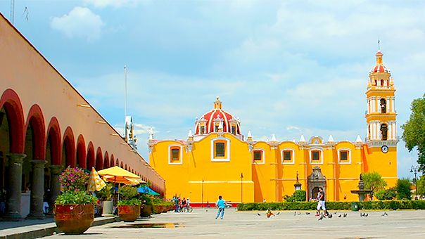 Tourist Attractions Guide in Cholula, Puebla, Mexico.