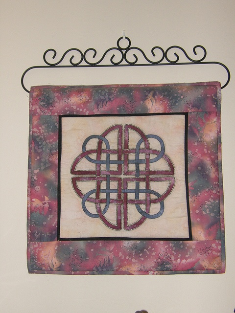 Celtic Knot Patchwork Quilt