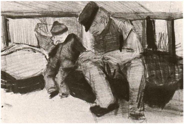 Vincent van Gogh Drawing, Pencil The Hague: April, 1882 Location unknown