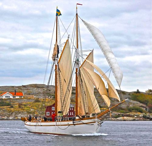 La Bohème - Historic Swedish Schooner
