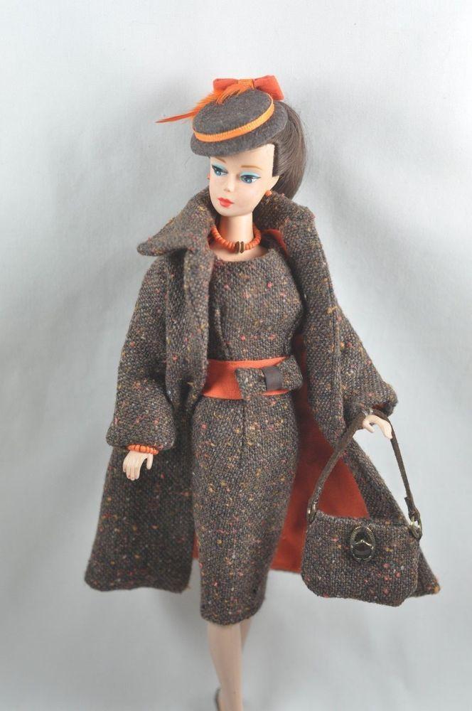 "Handmade Vintage Barbie/Silkstone Fashion by P.Linden 9 pc. ""Autumn Afternoon"" #FITSVINTAGEREPRODUCTIONSANDSILKSTONEBARBIE"