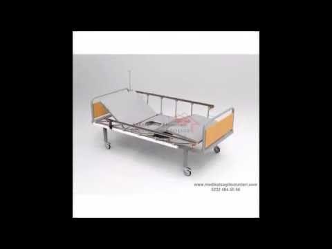 Lazımlıklı Hasta Karyolası Yeni Model
