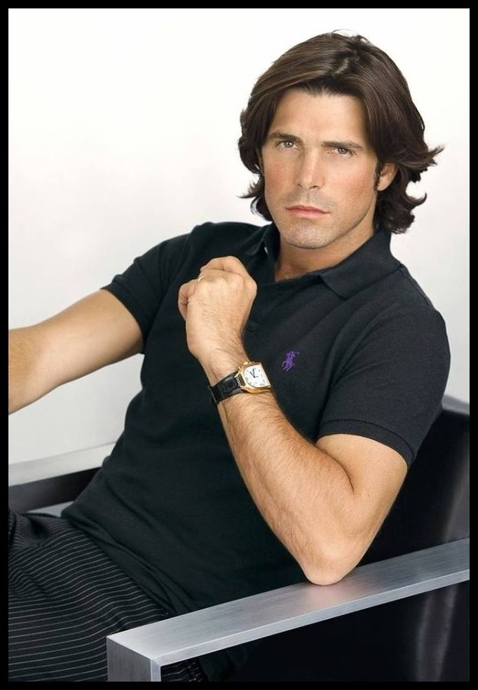 Nacho Figueras, polo athlete & model from Argentina, b. 1977