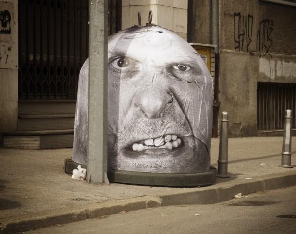 Arte Urbano de las manos de Mentalgassi