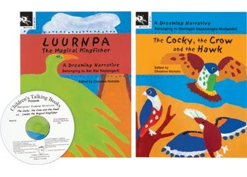 Aboriginal Dreaming Narrative 2 books & CD