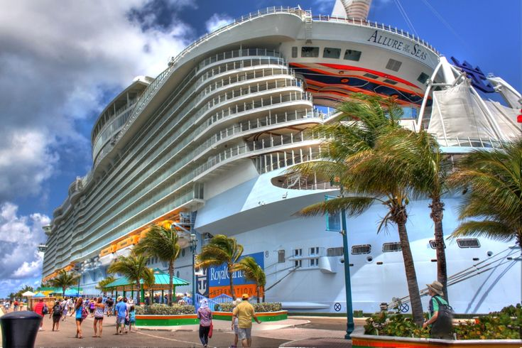 Allure of the Seas in Nassau, Bahamas.