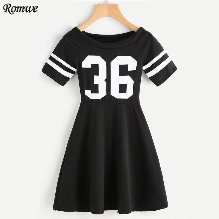 Damen Print Listrado Manga Alargamento Kleid Sommerkleider Casual Mulheres …   – Sommer Outfits & OOTD