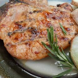 brined grilled pork chops grilled basil and garlic pork chops grilled ...