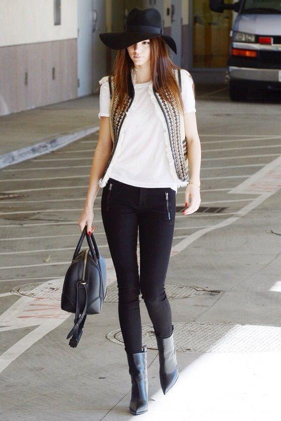 Kendall Jenner Street Style Winter Pinterest Jenners