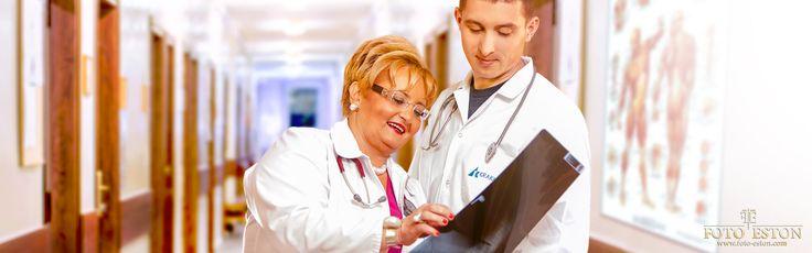 Lekarze też lubią oglądać zdjęcia, podziwiając np lordoze pacjenta :)   Zdjęcie z sesji biznesowej. http://foto-eston.com/