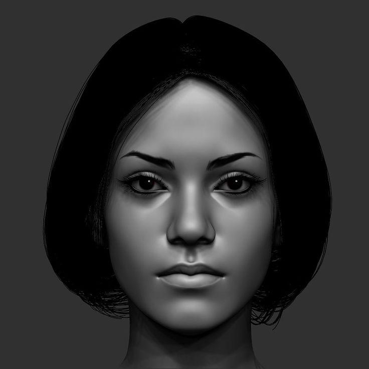 ArtStation - Face, Eugene Fokin