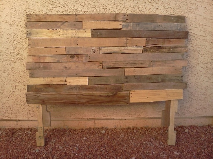 Best 25 Queen Pallet Headboards Ideas On Pinterest Diy