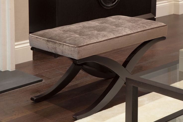 Ottoman is a perfect solution for extra seating when required | JHR Interiors