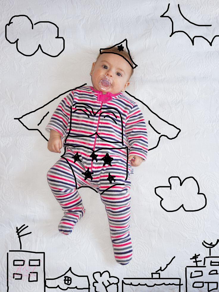 Catalina, photo, baby, creative, funny